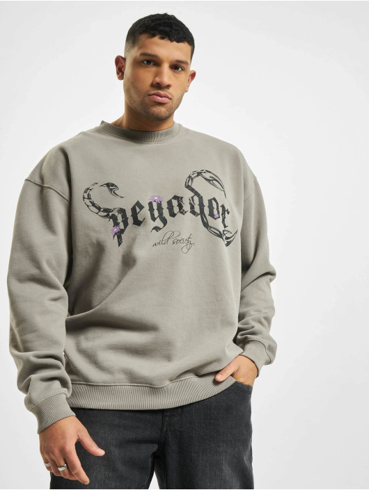 PEGADOR Swetry Deadwood Oversized szary