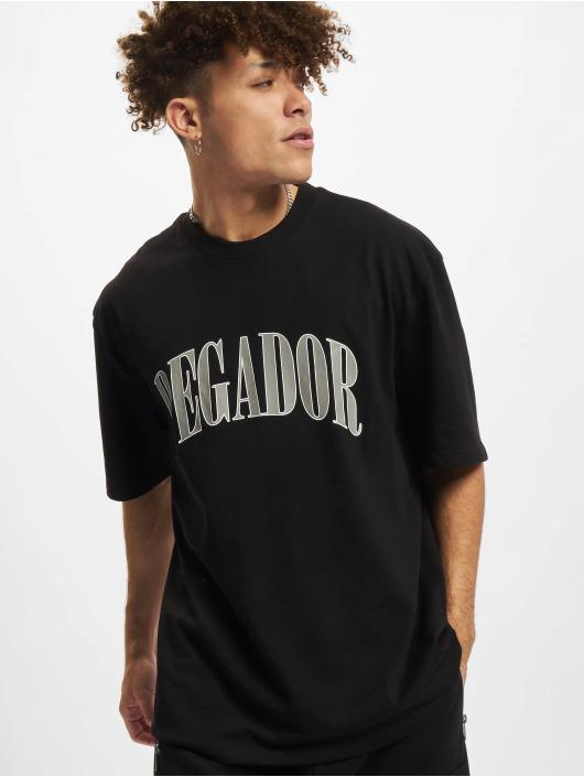 PEGADOR T-paidat Cali Oversized musta