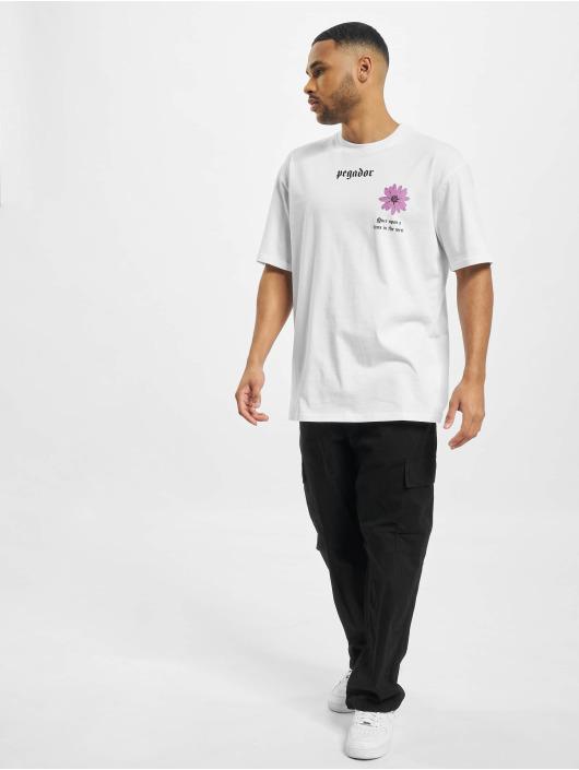 PEGADOR T-paidat Dakota Oversized valkoinen