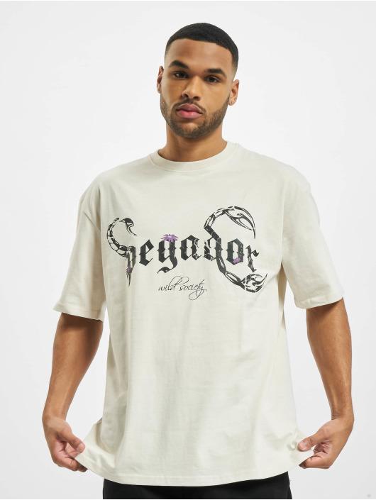 PEGADOR T-paidat Deadwood Oversized valkoinen