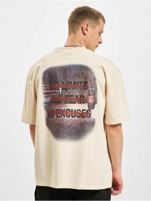 PEGADOR T-Shirt Manny Oversized Vintage beige