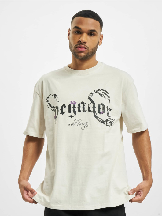 PEGADOR T-shirt Deadwood Oversized bianco