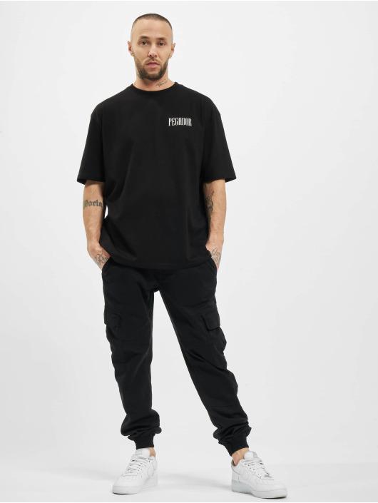 PEGADOR T-Shirt Mum Oversized black