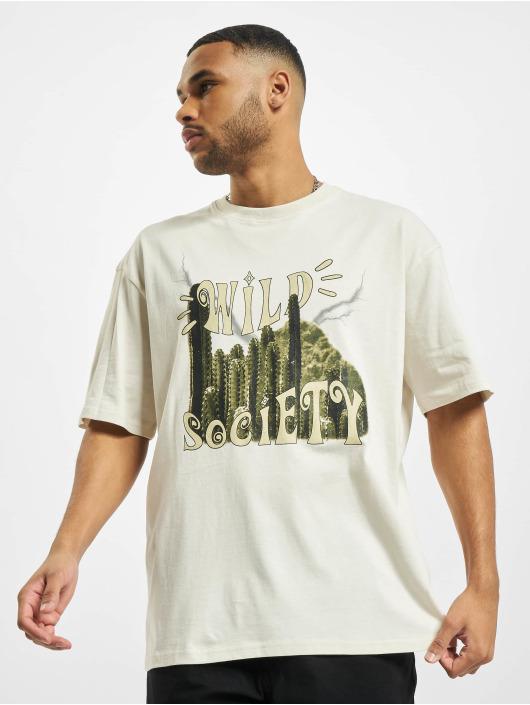 PEGADOR T-Shirt Cody Oversized blanc