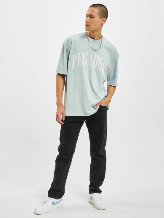 PEGADOR T-Shirt Cali Oversized blau