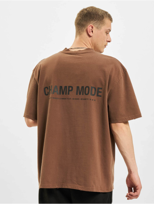 PEGADOR T-Shirt Mike Oversized Vintage brun