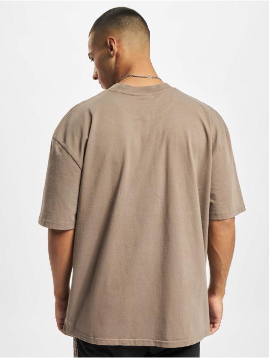 PEGADOR T-Shirt Logo Oversized brun