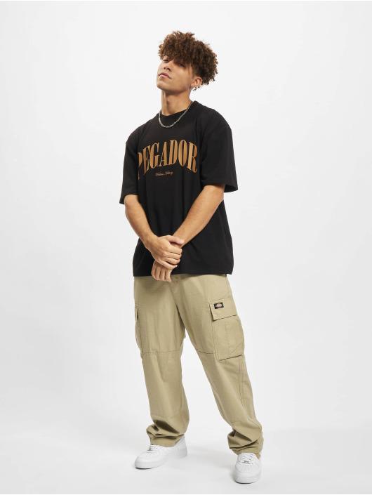 PEGADOR t-shirt Cali Oversized geel