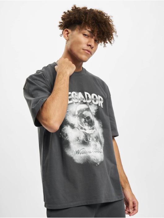 PEGADOR T-Shirt Astronaut Oversized grau