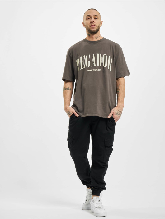 PEGADOR T-Shirt Cali Oversized gray