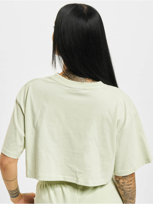 PEGADOR T-Shirt Layla Oversized Cropped green