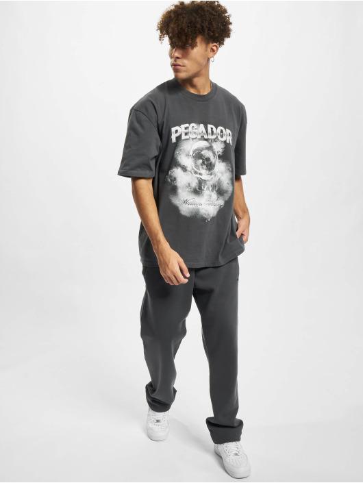PEGADOR T-Shirt Astronaut Oversized grey