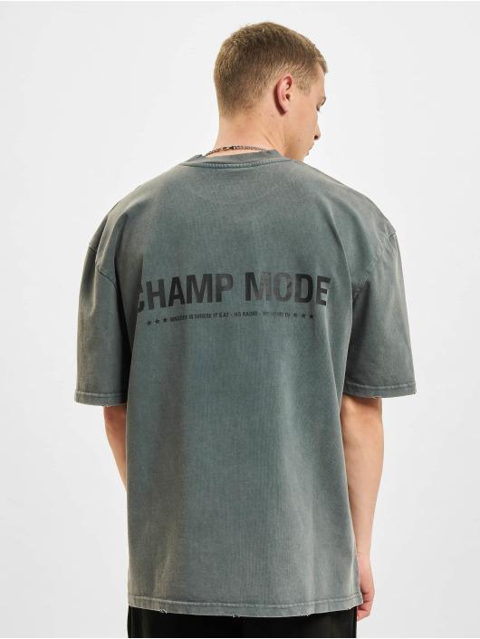PEGADOR t-shirt Mike Oversized Vintage grijs