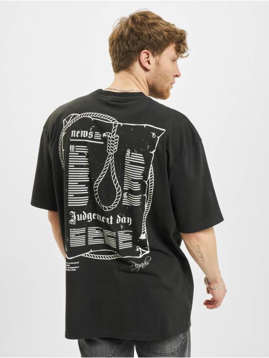 PEGADOR T-shirt Dakota Oversized nero