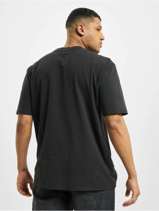 PEGADOR T-shirt Utah Oversized Washed nero
