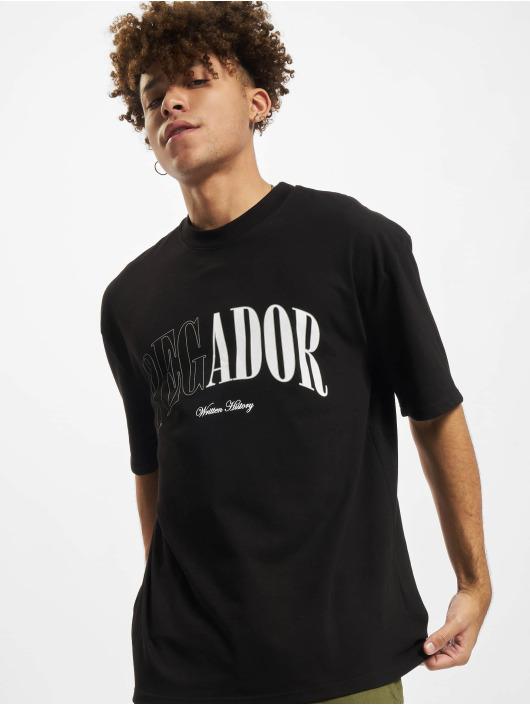PEGADOR T-shirt Cali Oversized nero