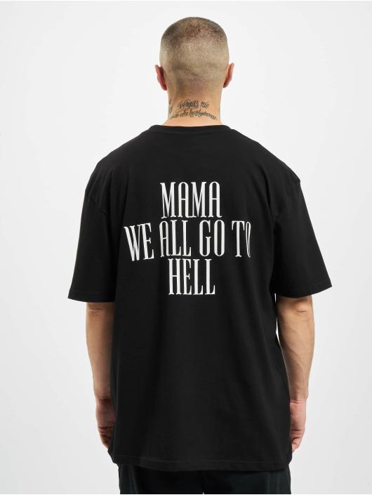 PEGADOR T-Shirt Mum Oversized noir