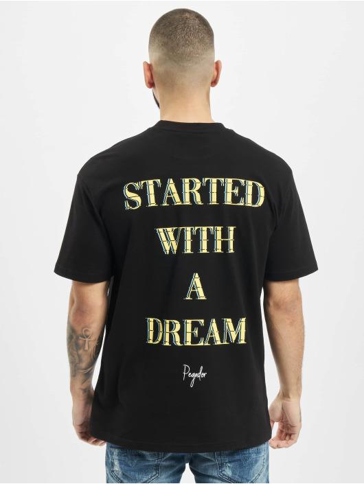 PEGADOR T-Shirt Santo Oversized noir