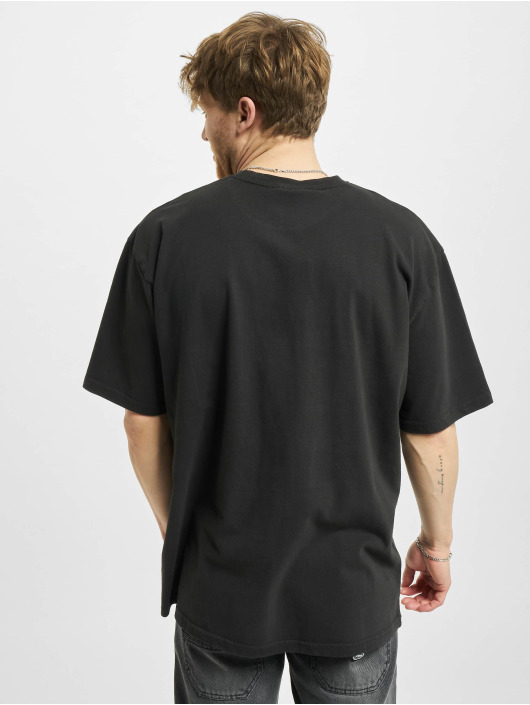 PEGADOR T-Shirt Oregon Oversized Washed noir