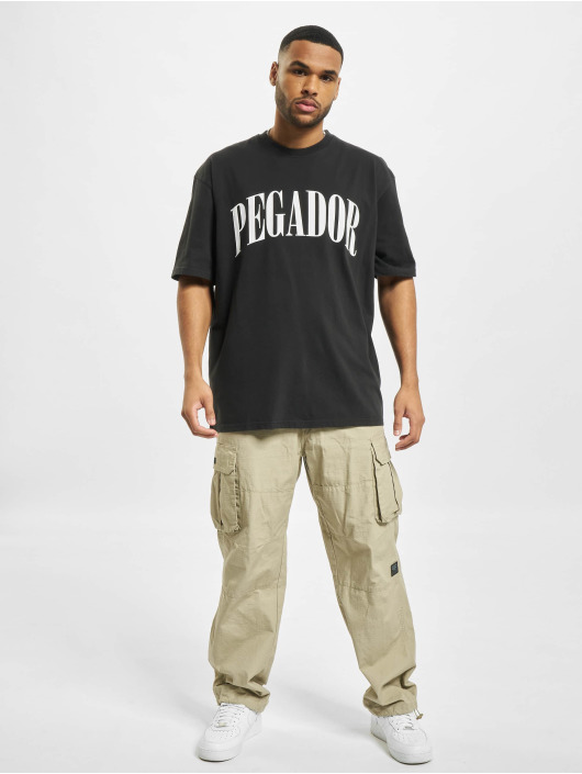 PEGADOR T-Shirt Cali Oversized noir