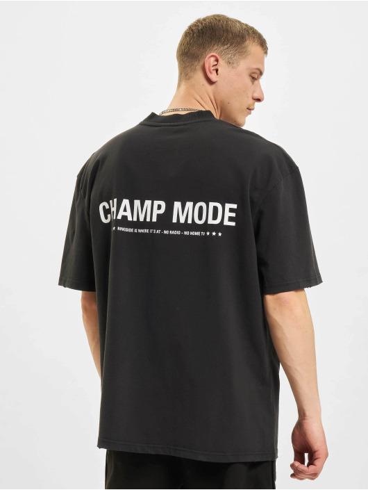 PEGADOR T-Shirt Mike Oversized Vintage noir