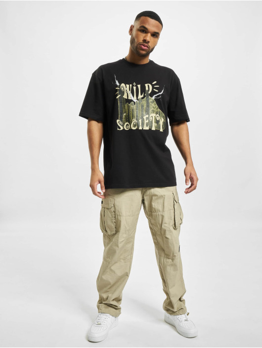 PEGADOR T-Shirt Cody schwarz