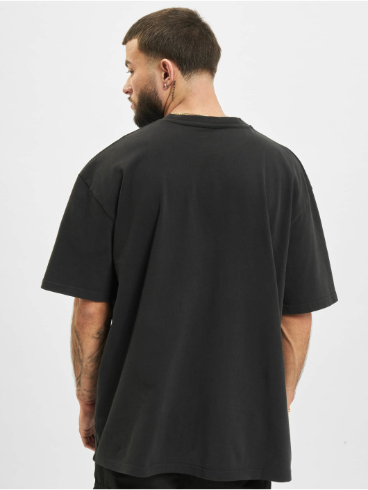 PEGADOR T-Shirt Ghosttown Utility Washed schwarz
