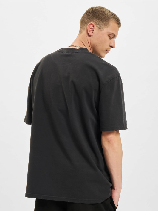 PEGADOR T-Shirt Cassius Oversized Vintage schwarz