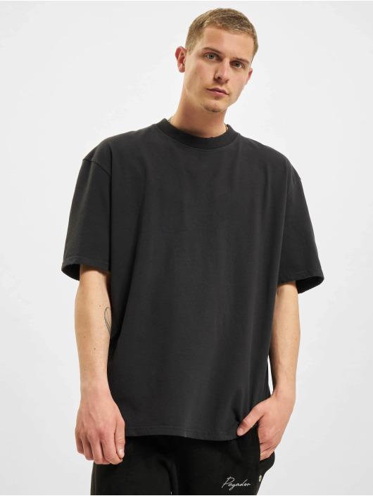 PEGADOR T-Shirt Oversized Vintage schwarz