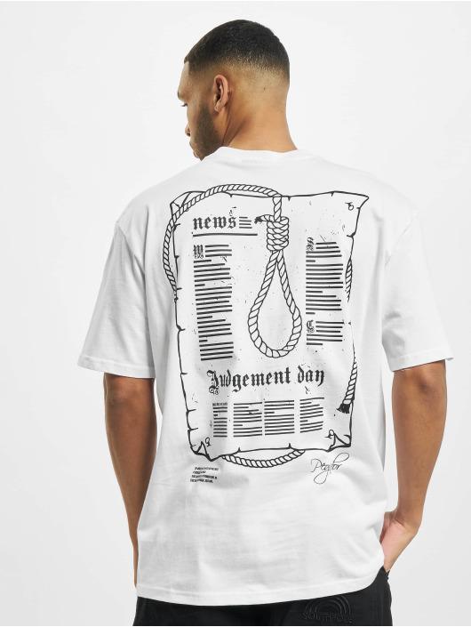 PEGADOR T-shirt Dakota Oversized vit