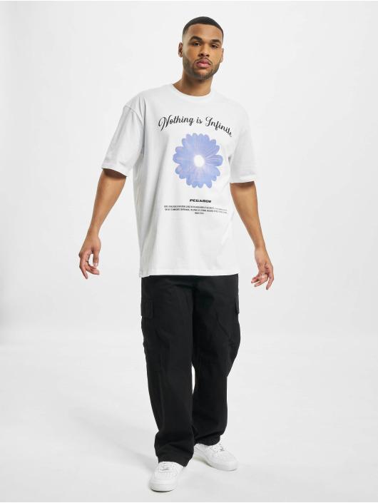 PEGADOR T-shirt Rogers Oversized vit