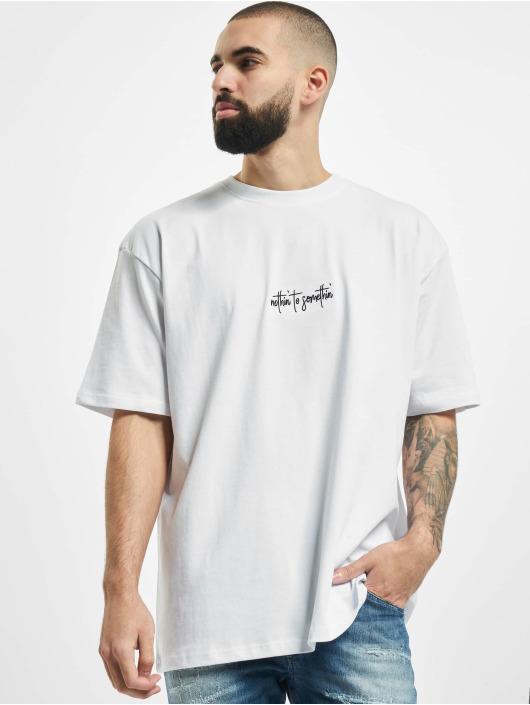 PEGADOR T-Shirt Santo Oversized weiß