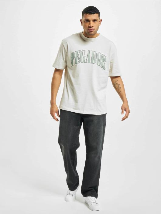PEGADOR T-Shirt Cali Oversized weiß
