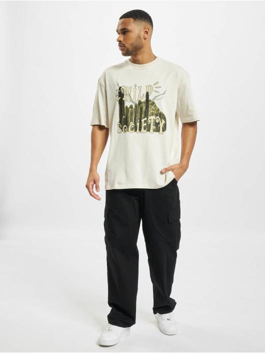 PEGADOR T-Shirt Cody Oversized weiß