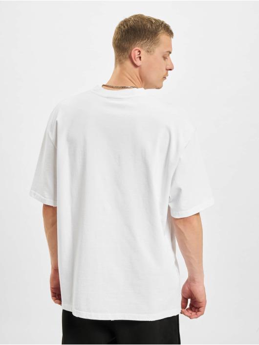 PEGADOR T-Shirt Oversized Vintage weiß
