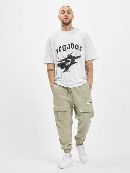 PEGADOR T-Shirt Colon Oversized white