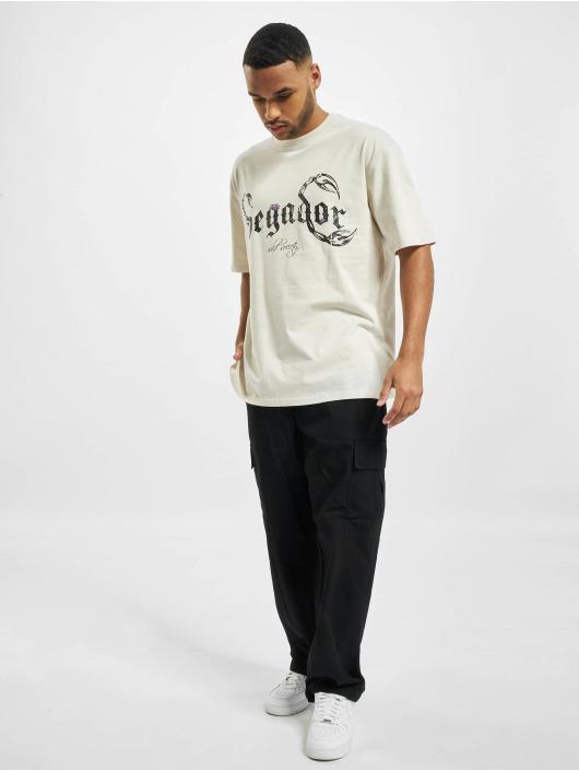 PEGADOR t-shirt Deadwood Oversized wit