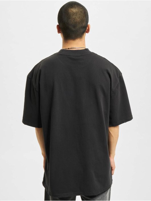 PEGADOR t-shirt George Oversized Vintage zwart