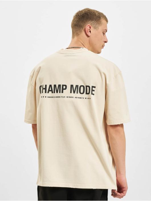 PEGADOR T-shirts Mike Oversized Vintage beige
