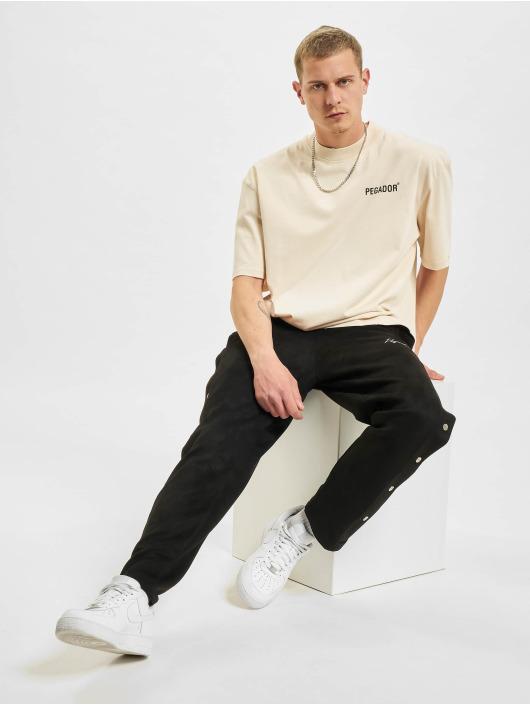 PEGADOR T-shirts Manny Oversized Vintage beige