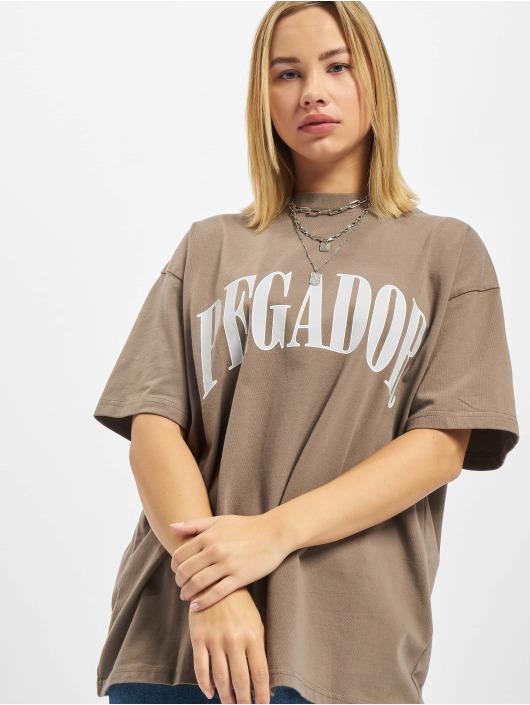 PEGADOR T-shirts Marino Oversized beige