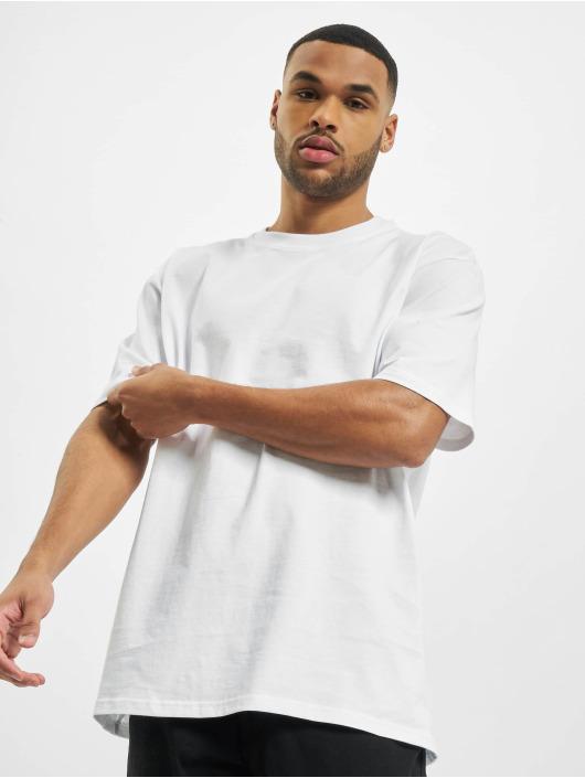 PEGADOR T-shirts Basic Oversized hvid