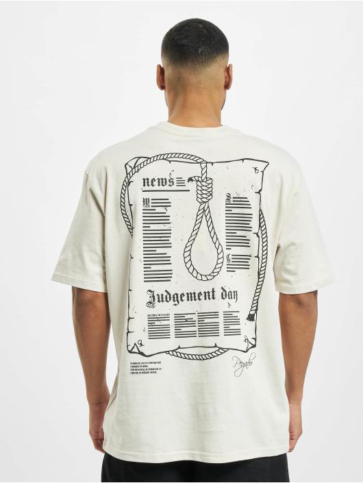 PEGADOR T-shirts Dakota Oversized hvid