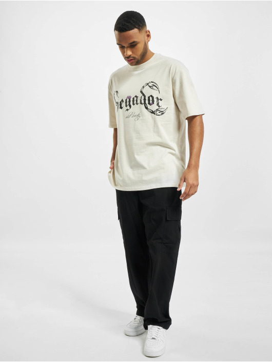 PEGADOR T-shirts Deadwood Oversized hvid