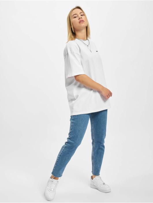 PEGADOR T-shirts Beverly Logo Oversized hvid