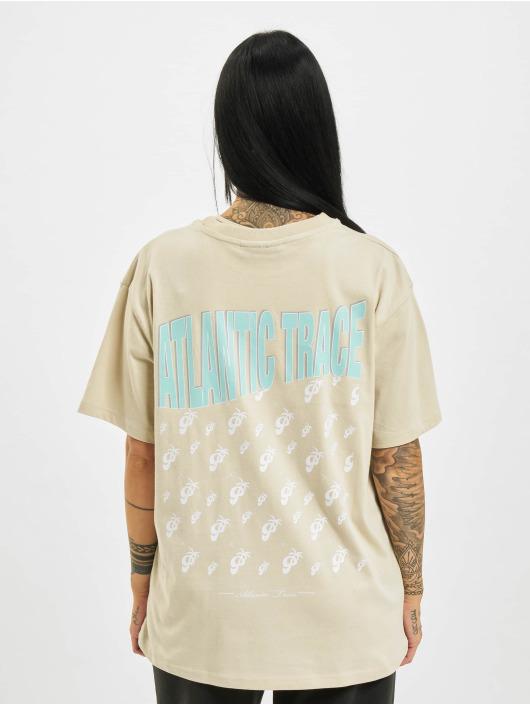 PEGADOR T-Shirty Kelly Oversized bezowy