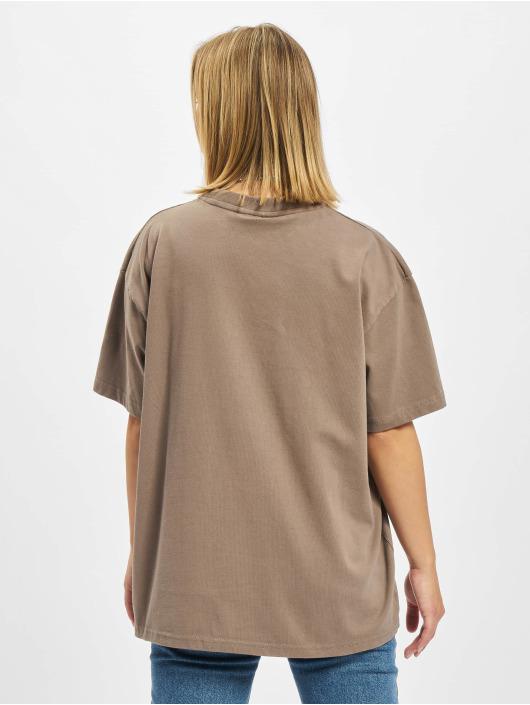 PEGADOR T-Shirty Marino Oversized bezowy