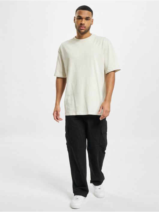 PEGADOR T-Shirty Basic Oversized bialy