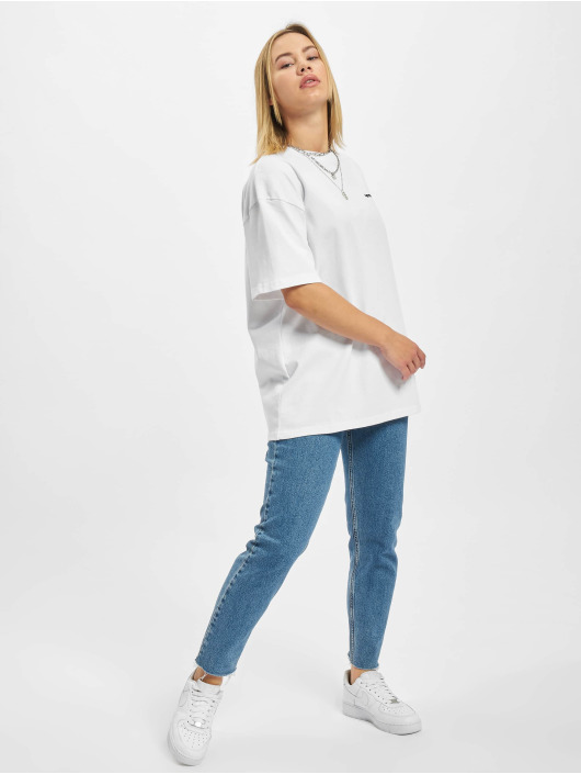 PEGADOR T-Shirty Beverly Logo Oversized bialy