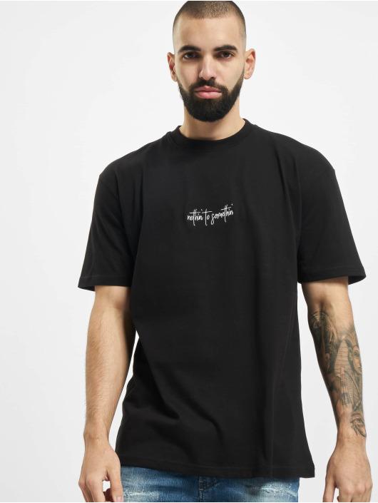 PEGADOR T-Shirty Santo Oversized czarny